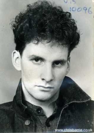 chris barrie son